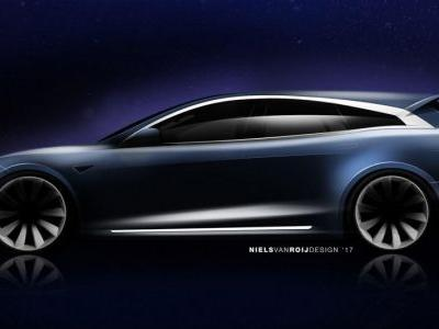 Niels Van Roij Design Previews Their Model S Shooting Brake