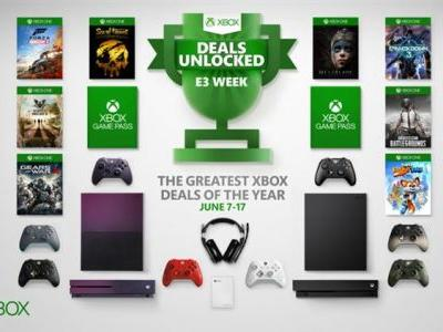 E3 Week is coming and Microsoft will have a huge sale to celebrate