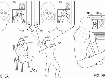 Microsoft patent hints at a dual-screen mobile device for video calling