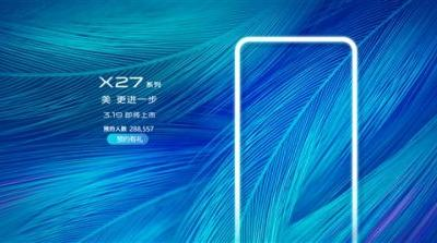 Purported VIVO X27 Pro leaked, reveals pricing and a huge pop-up selfie