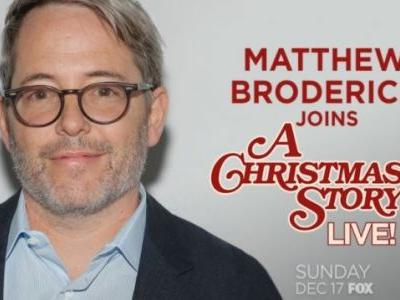 Matthew Broderick to Narrate A Christmas Story Live!