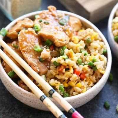 Instant Pot Healthy Fried Rice