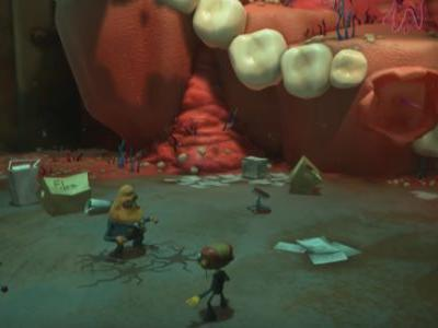 Tim Schafer Shows New Psychonauts 2 Gameplay, Talks Inspiration for the Art and Lore