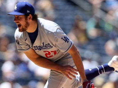 Dodgers' Trevor Bauer pitched, umpired and had himself a day vs. the Padres