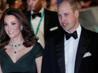 Kate Middleton wears green to the all-black BAFTAs red carpet; Twitter reacts