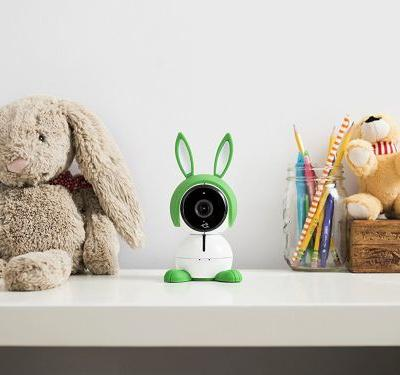 A baby monitor shaped like a bunny made keeping tabs on my little one easier than ever