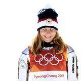 Ester Ledecka Won Gold in the Super-G - and She Was Wearing Mikaela Shiffrin's Skis!