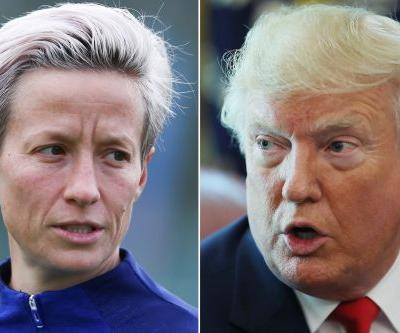 Trump criticizes Megan Rapinoe for anthem protests during World Cup