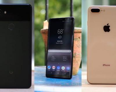 IPhone 8 Plus vs Pixel 2 XL vs Galaxy Note 8: which one to buy