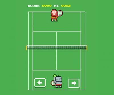 Google Hid an 8-Bit Tennis Game to Celebrate Wimbledon