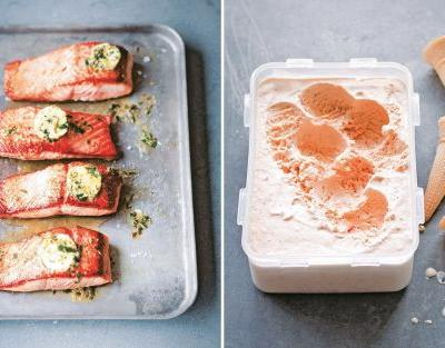 How to use all your senses to really appreciate food, from salmon to strawberry ice cream