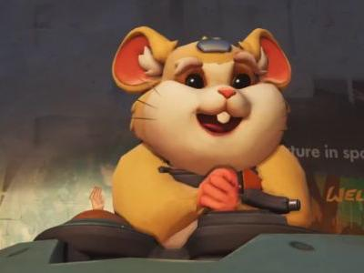Reddit correctly guessed that Overwatch's newest hero is a mech-piloting killer hamster