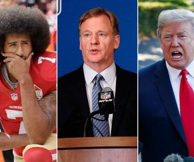 NFL players and Trump agree on anthem: Goodell's clueless