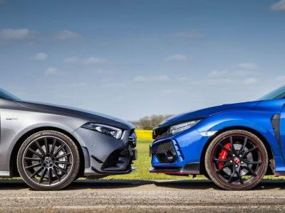 Honda Civic Type R vs Mercedes-AMG A35: Do You Even Need 4WD?