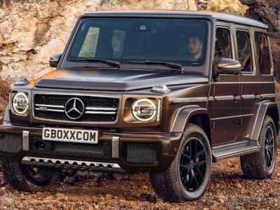 New Mercedes-AMG G63 Will Probably Look A Lot Like This