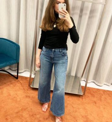 Topshop Has 4 Brand-New Pairs of Jeans-and I Just Tried Them All On