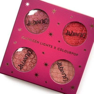 ColourPop x Kathleen Lights Twinkling Lights Collection Swatches
