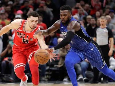 LaVine steal, dunk leads Bulls to dramatic win over Magic