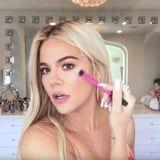 True Thompson Could Not Be Cuter in Khloé Kardashian's New Makeup Tutorial For Vogue