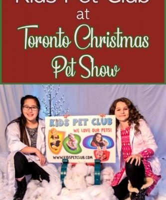 Kids' Pet Club at the Toronto Christmas Pet Show