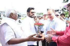 Tamil Film Actor Sarath Kumar Participates in Cleanliness Drive of M/O Tourism In Chennai