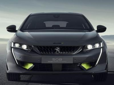 Peugeot's New Hybrid Saloon Concept Does 0-62mph In 4.3 Seconds