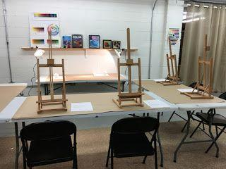 Introduction to Oil Painting, my class at Arlene's Artist Materials