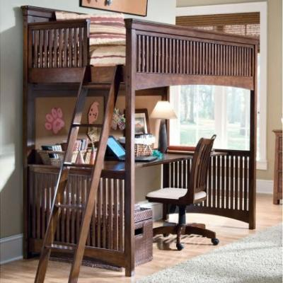 20 New Queen Bunk Bed with Desk Images