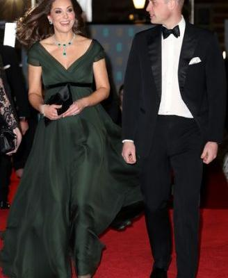 Kate Middleton's BAFTAs Dress Wasn't Black, But There's A Reason For Her Pick