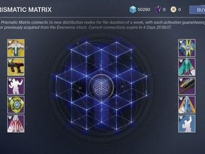 Bungie's Changing Destiny 2 Eververse Rewards With 'Prismatic Matrix,' Here's How It'll Work