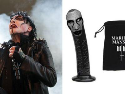 Get Freaky This Halloween with a Marilyn Manson Face Dildo
