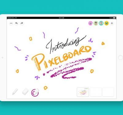 This iPad app lets you collaborate on a virtual whiteboard in real time