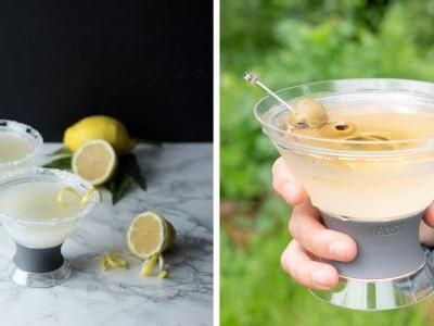 Everyone Who Loves Extra-Cold Martinis Needs This Glass