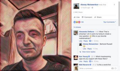 Facebook has cut off Prisma's Live Video access