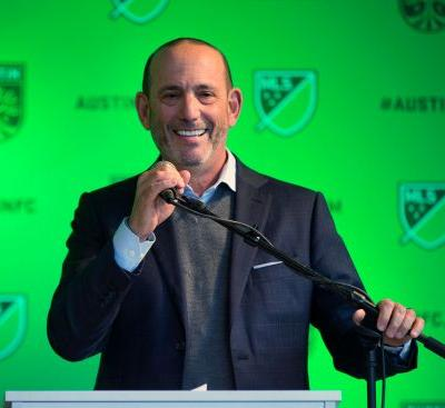 MLS extends commissioner Garber's contract through 2023