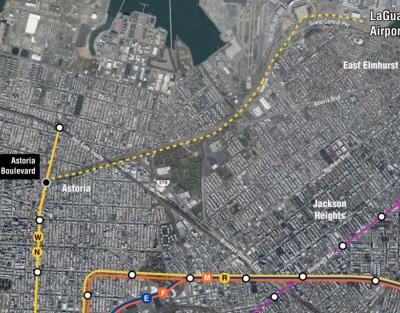 Subway to LaGuardia Made Possible by FAA Rule Change