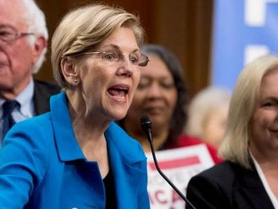 Sen. Elizabeth Warren accuses Trump of slut-shaming Sen. Kirsten Gillibrand
