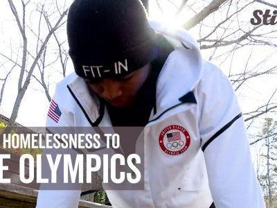 Man on journey to Olympics after overcoming homelessness through fitness