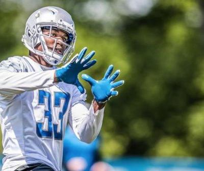Lions RB Kerryon Johnson has sprained knee