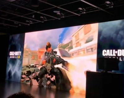 Activision shows off Call of Duty Mobile at Unity GDC event