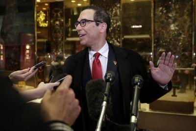 Trump's treasury secretary pick is a very, very lucky man