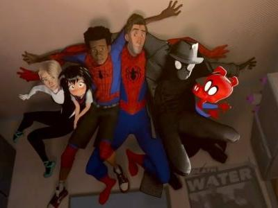 Spider-Man: Into the Spider-Verse Characters Recreate Avengers Shawarma Scene