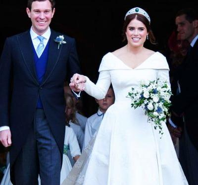 Princess Eugenie's Earrings Were A Gift From Her Husband