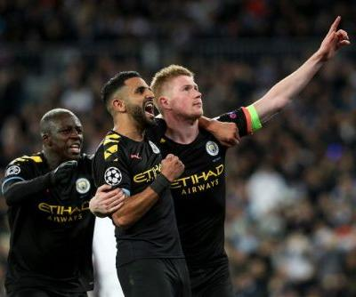 Champions League soccer: Manchester City comes back to beat Real Madrid