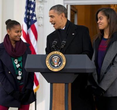 21 jokes Obama made in office that had his daughters cringing
