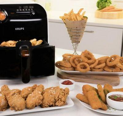 I made deliciously crispy fried chicken, fries, and many more foods with no oil by using this under-$100 air fryer