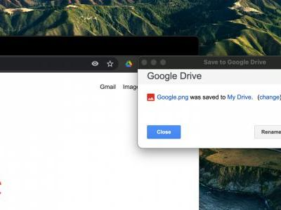 'Save to Google Drive' extension updated to replace Chrome's PDF print and upload capability
