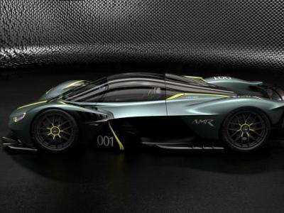 Aston Martin Valkyrie Gets Road-Legal AMR Track Performance Pack