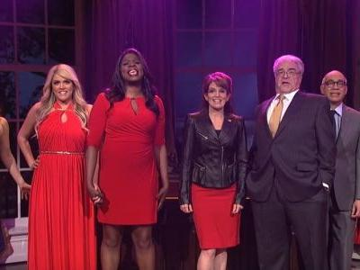 Tina Fey's Sarah Palin returns to SNL for a White House version of 'What I Did for Love'