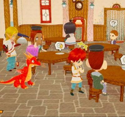 'Little Dragons Cafe' Lets Players Run a Restaurant While Raising a Friendly Beast
